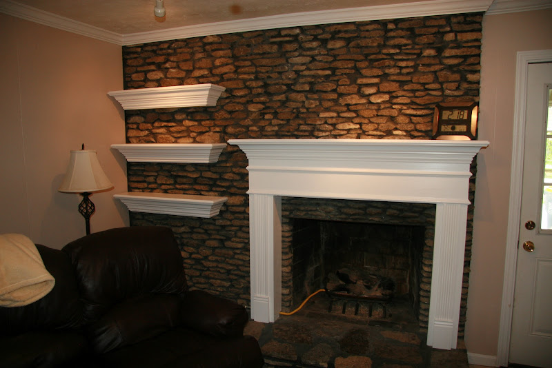 Fireplace Floating Mantel Shelf