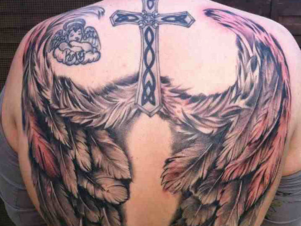 tattooz designs tattoo angel wings tattoos designs pictures gallery. Black Bedroom Furniture Sets. Home Design Ideas