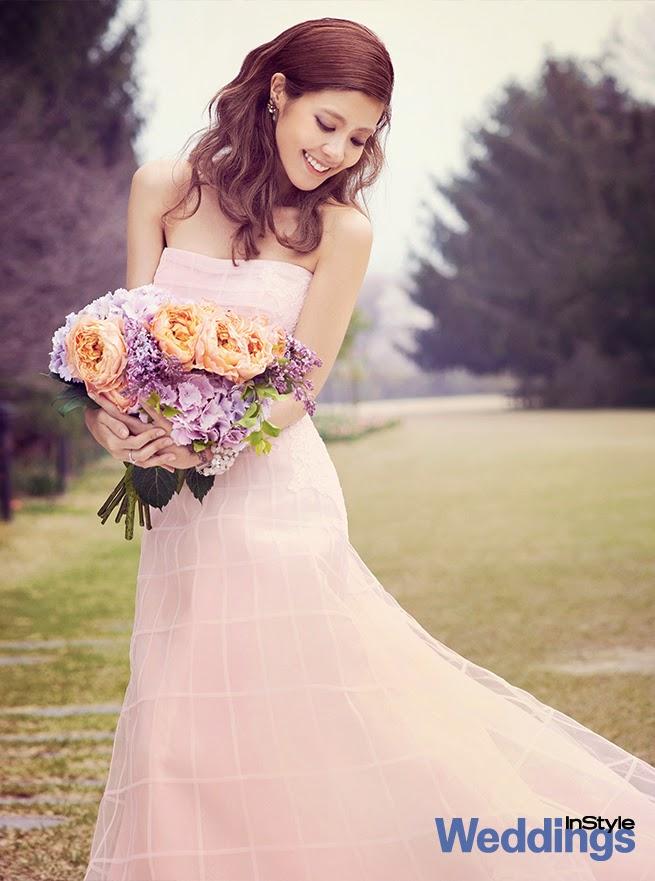 Lee Yoon Ji - InStyle Weddings May 2014