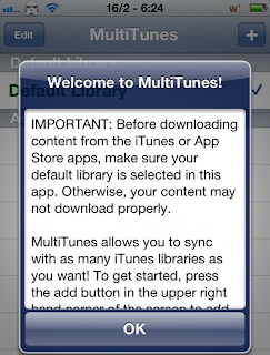 MultiTunes To Sync MultiPle iTunes Library