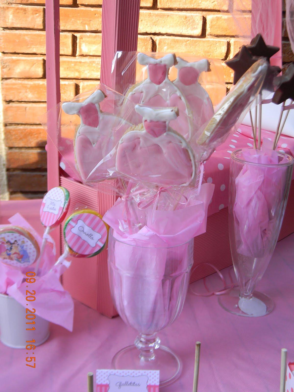 Cumples tematicos cumple tematico princesas la bella - Cumple 2 anos decoracion ...