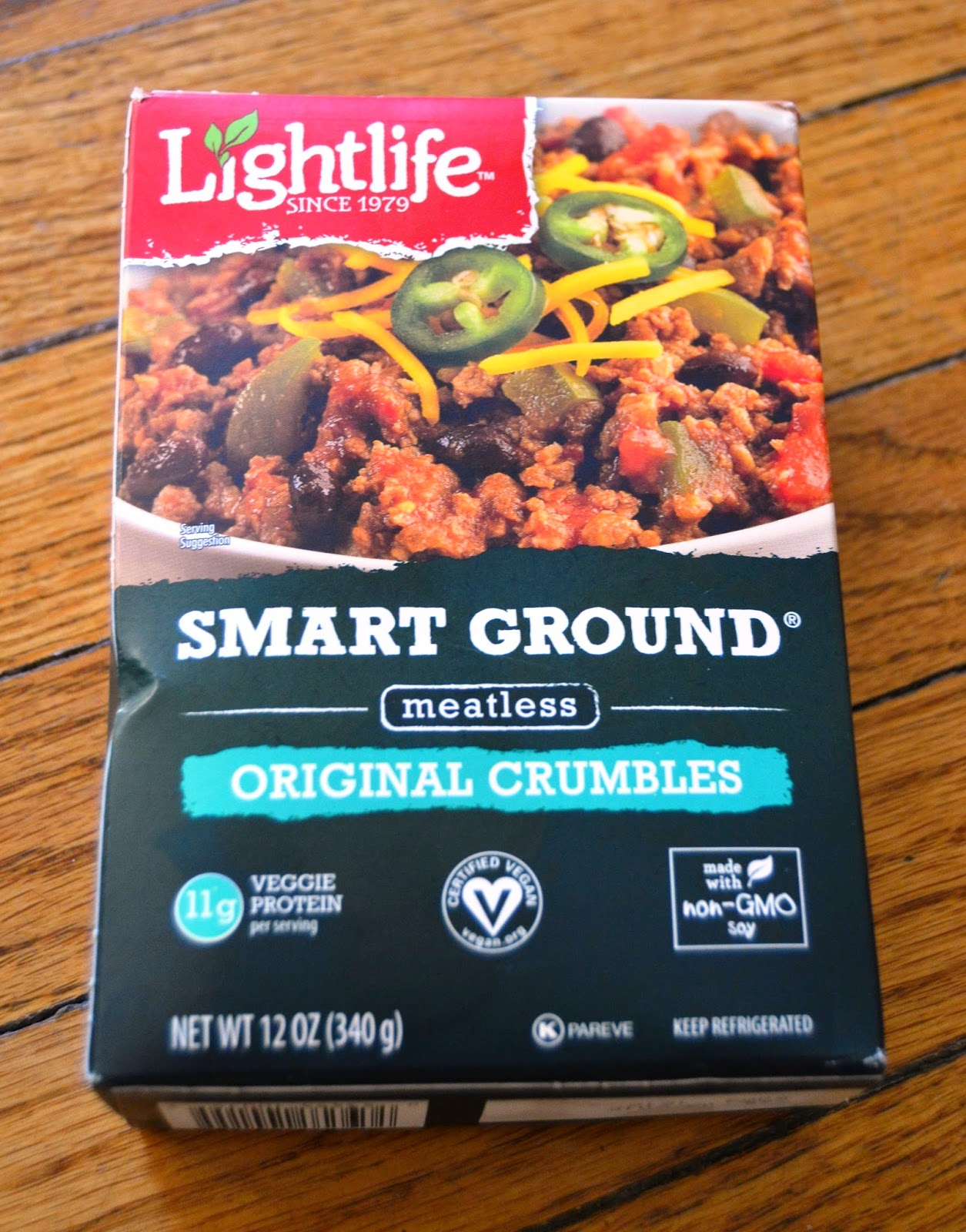 Lightlife Smart Ground Meatless Crumbles