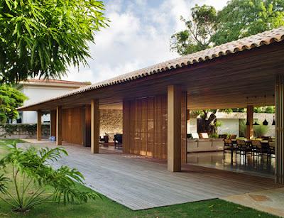 Rumah Tropis Gaya Etnik 3