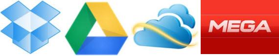 Comparativa de servicios de almacenamiento en la nube
