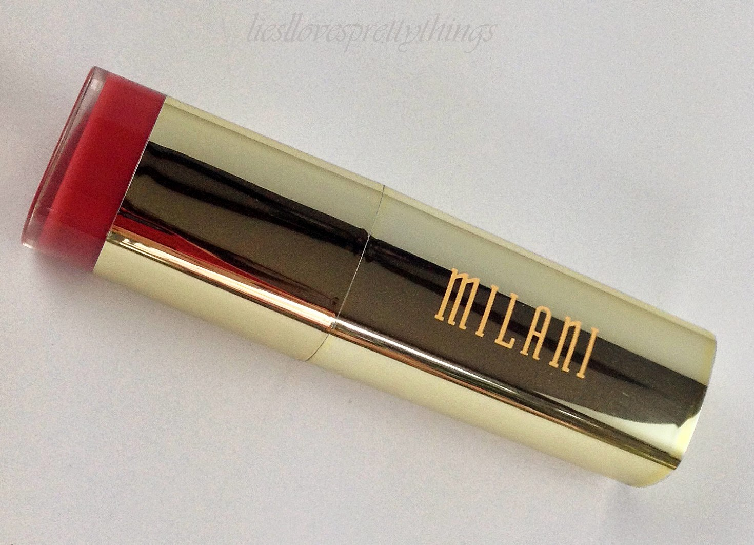 Milani Pretty Natural swatch and review
