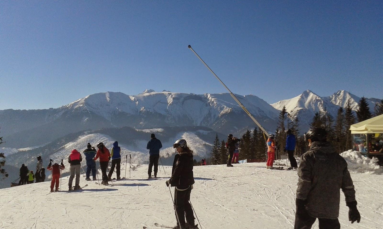 Bachledova Dolina widok na Tatry