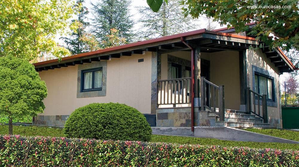 Arquitectura de casas prefabricadas en espa a viviendas - Casas prefabricadas americanas en espana ...