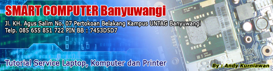 "SMART COMPUTER ""Spesialis Service Laptop"""