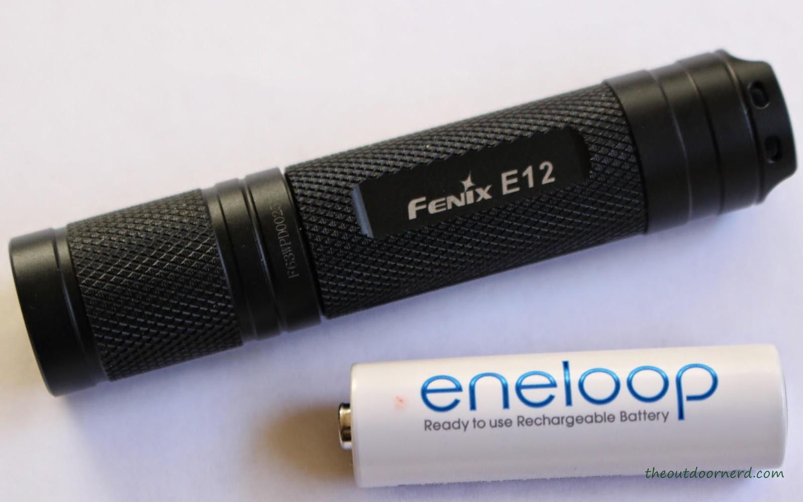 Fenix E12 1xAA EDC Flashlight Product Image 8