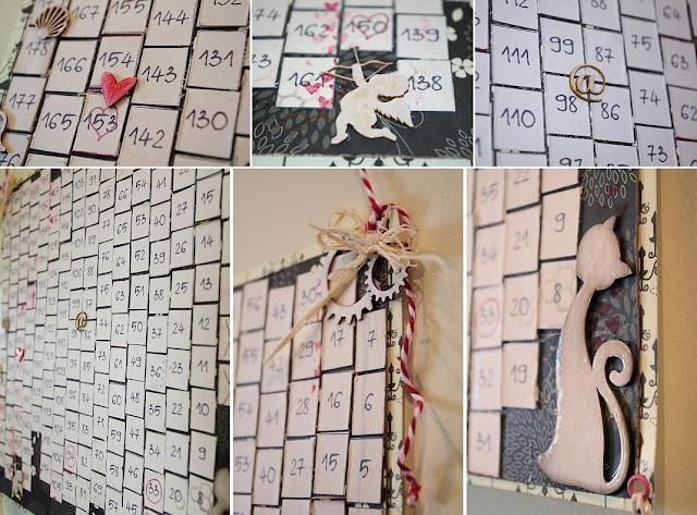 kalendarz album beige ecru galeria schaffar dominika omelan