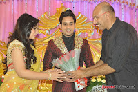 Celebraties at Actor Bharat n Jessy Wedding Reception Photos+%252816%2529 Actor Bharath n Jessy Wedding Photos