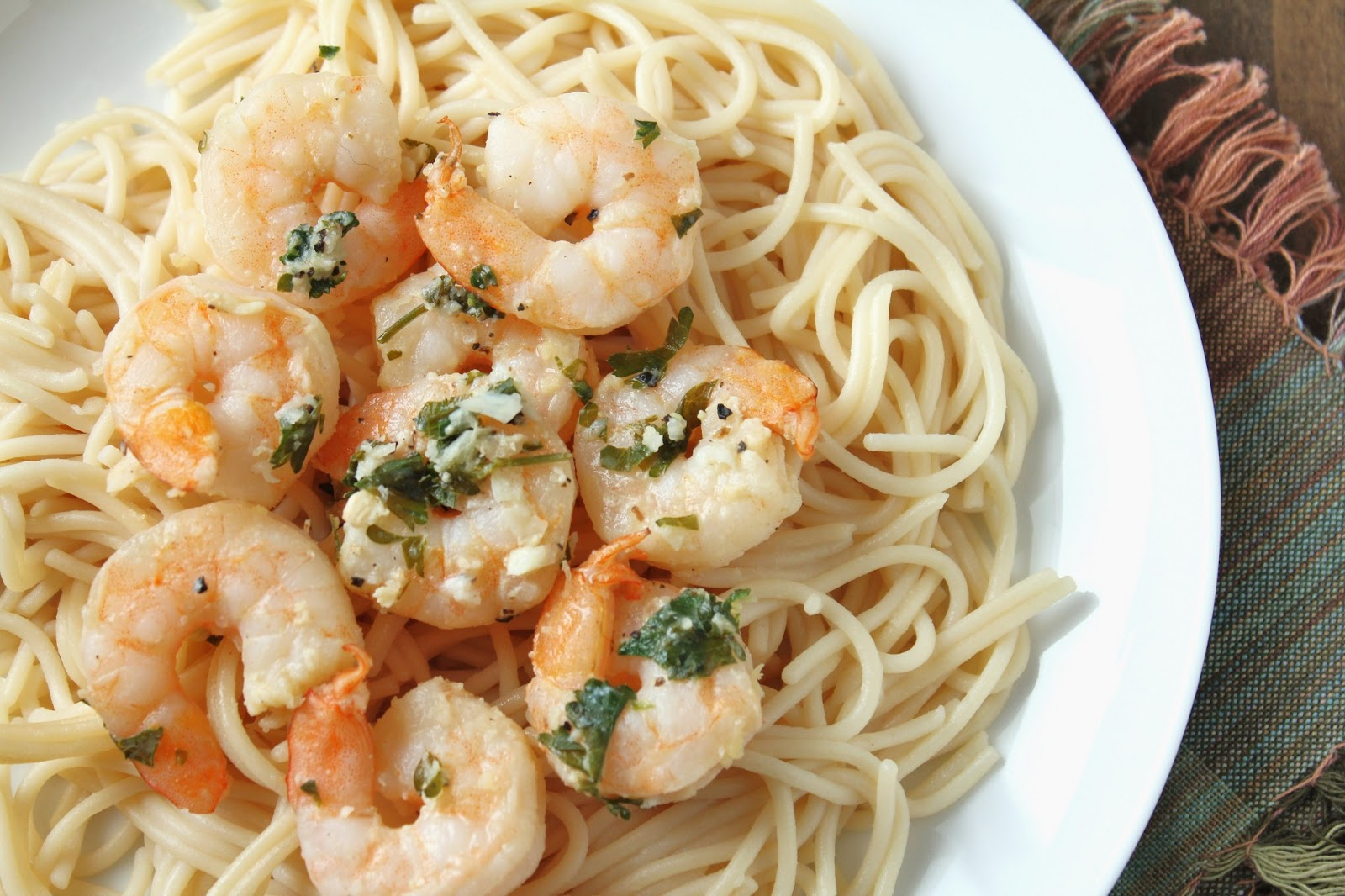 Shrimp Scampi Bake {Low-FODMAP, Gluten-Free} / Delicious as it Looks