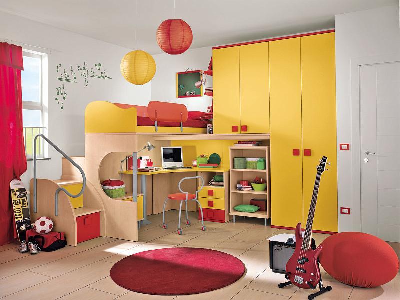 10 modernos dormitorios colombini para chicos ideas for Roperos para dormitorios modernos