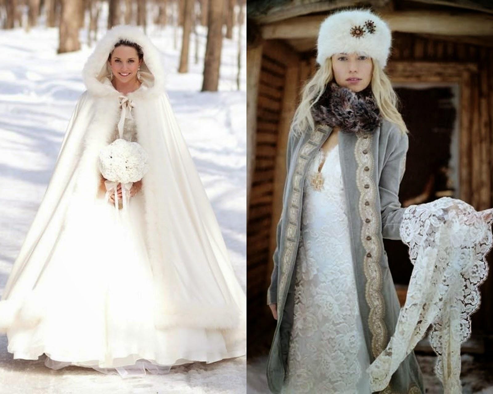 Zimowy ŚLUB - Dopasowanie ubioru