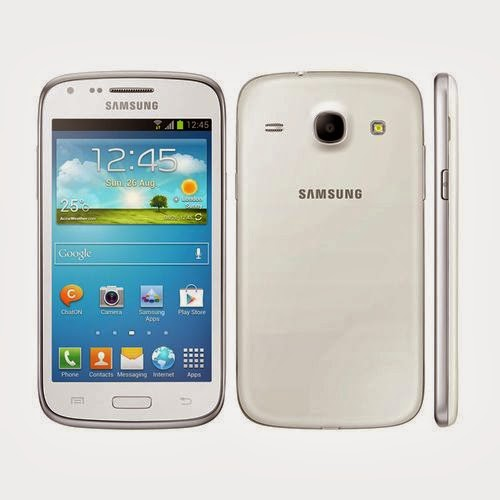 Samsung Galaxy Core Blanc 8Go comparatif de smartphone