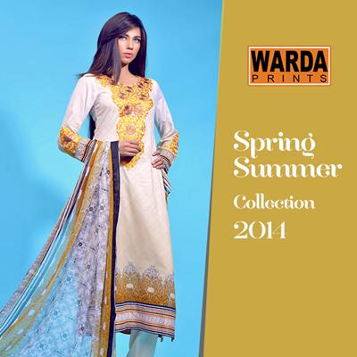 Warda Lawn Prints 2014
