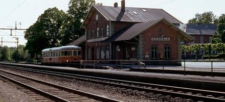 Sösdala, Sösdala station, sösdala tågstation, pågatåg