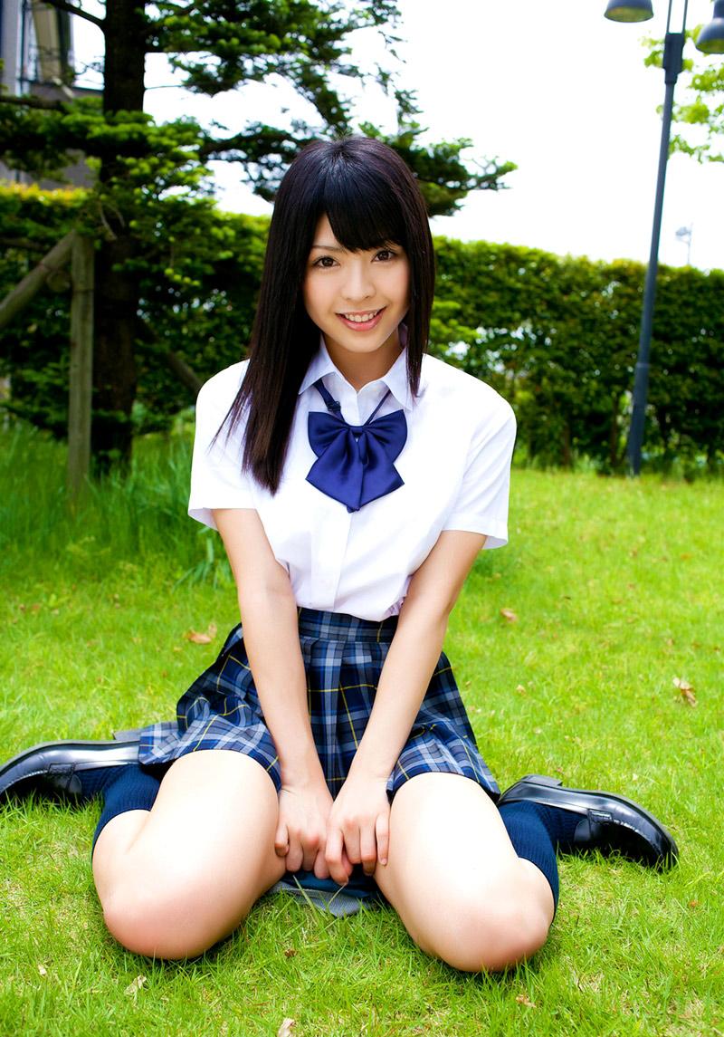 japanese schoolgirl tube: Sakura Seto in school uniform
