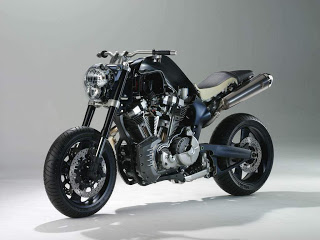 Motorcycle - Yamaha MT-01 Papercraft
