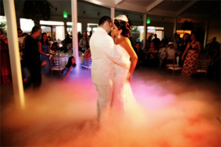 Enhance your Wedding and bring it to the next level with CryoFX® Co2 Special Effects