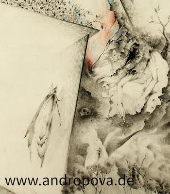 """""""Mannigfaltigkeit"""" - Ausschnitt einer Bleistiftzeichnung"""