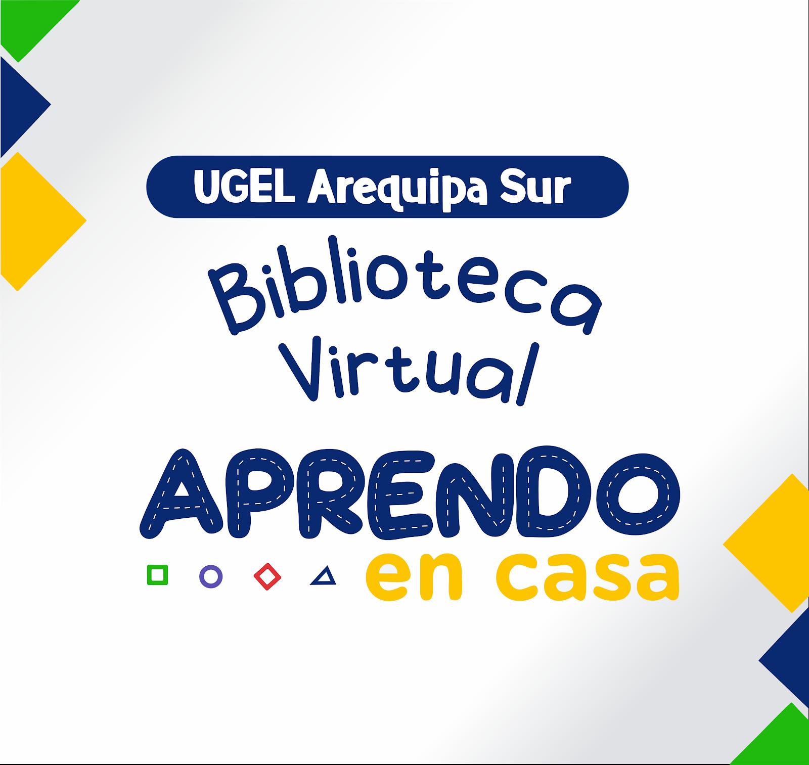 BIBLIOTECA VIRTUAL - TV PERU - APRENDO EN CASA