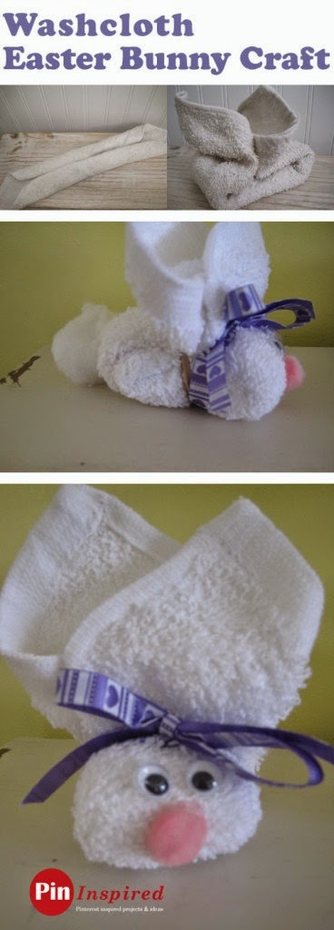 http://www.pininspired.com/2013/03/21/washcloth-easter-bunny-craft/