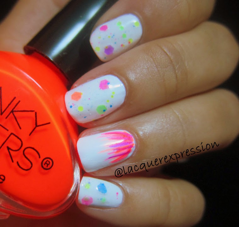 atomic poppy nail polish by funky fingers
