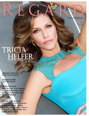 Tricia Helfer HQ Pictures Regard  Magazine Photoshoot February 2014