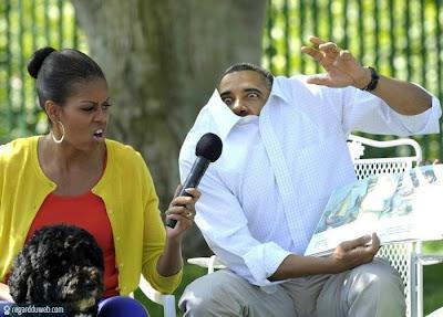 Images drôles et insolites catégorie Célébrité - Obama v4