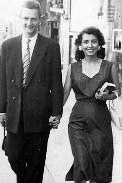 Bernard og Georgette Cazes