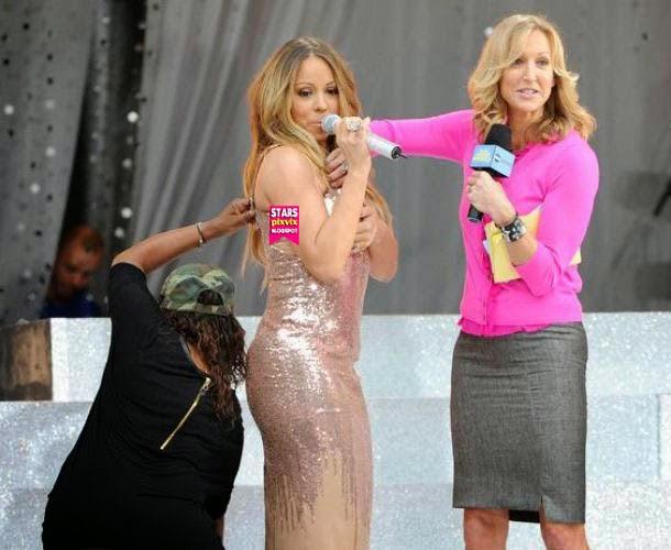 Mariah Carey 39 S Shocking Wardrobe Malfunction At Good