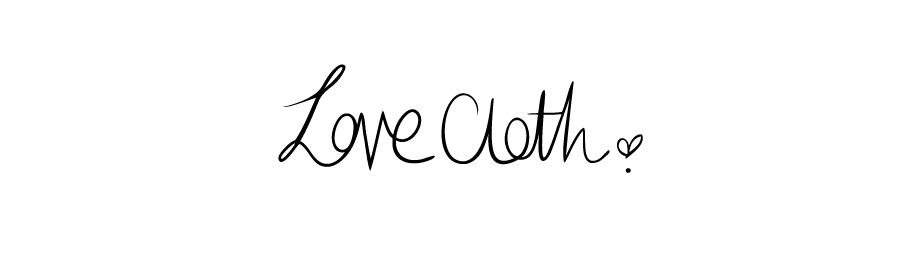 **Love Cloth.**
