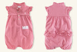 POLO GIRL&#39;S Pink Romper RM20