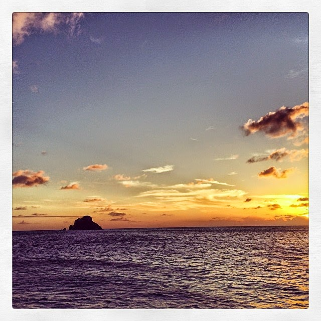 Karolina Kurkova shares a few pictures into her Instagaram account during St Barts getaway on Monday, April 14, 2014