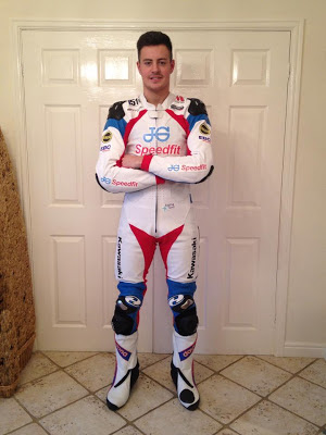 Held motorcycle clothing worn by Joe Burns, National Superstock 1000 racer