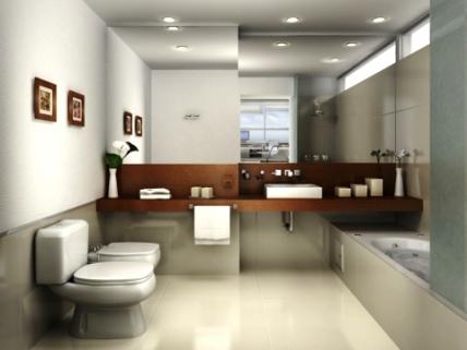 contoh desain kamar mandi