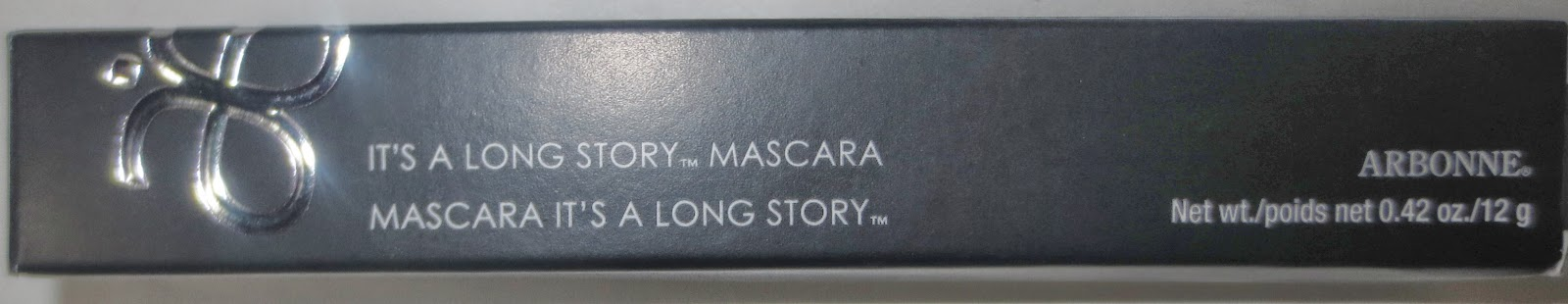 Arbonne It's a Long Story Mascara Packaging