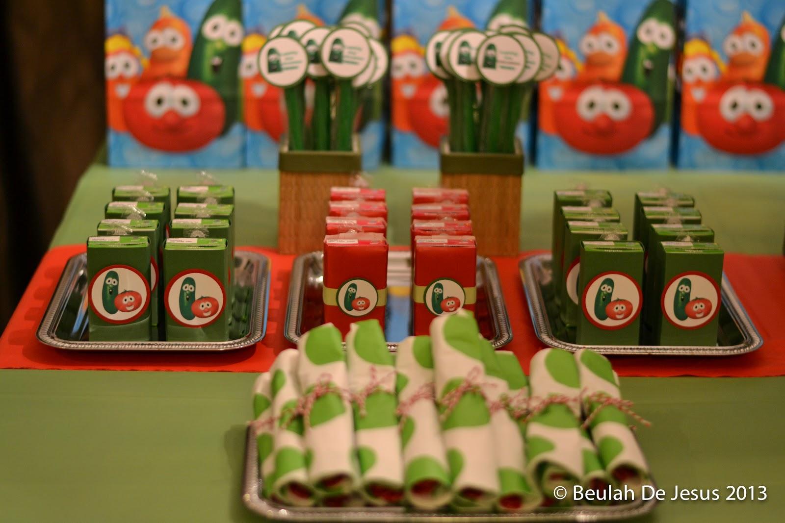 VeggieTales Birthday Party Busy Miss B