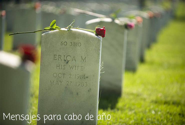 Mensajes para Cabo de Año