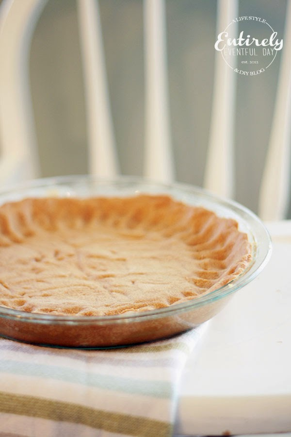Healthier Gotta try this Graham Cracker Crust Recipe. Made with Coconut oil and sweetened with Stevia.