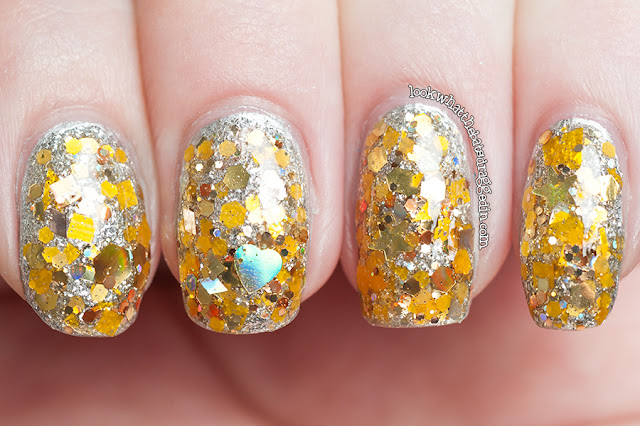 Lynnderella nail polish manicure topaz optimism essenve icy princess illamasqua harsh