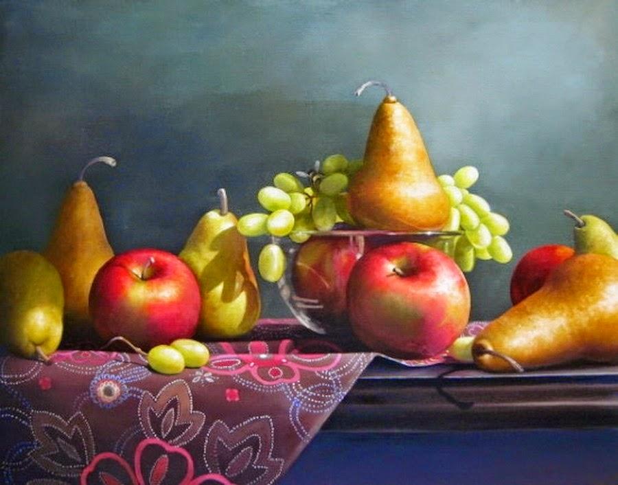 Im genes arte pinturas pintura cos bodegones de flores y - Fotos de bodegones de frutas ...
