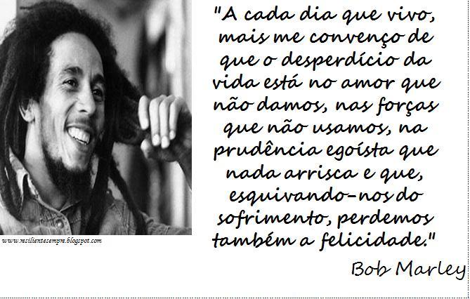 As Melhores Frases de Bob Marley | Melhores Frases