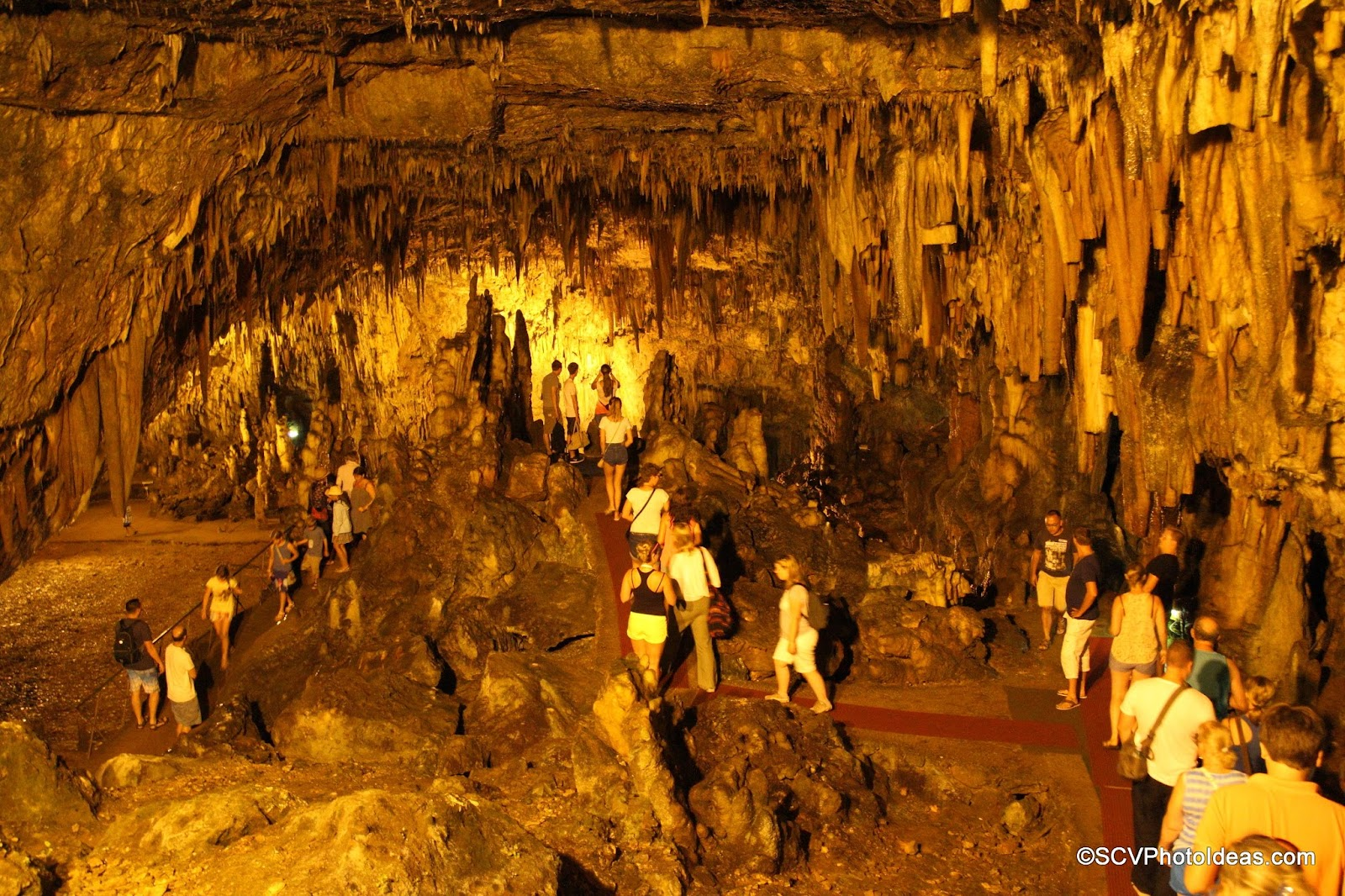 Drogarati Cave first top chamber and balcony