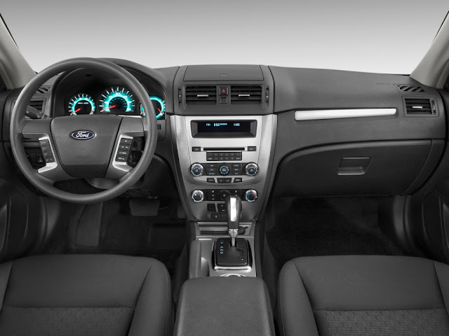 Interior view of 2011 Ford Fusion