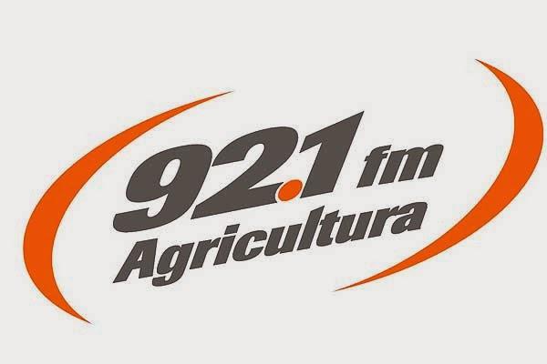 Logo radio 92.1 fm agricultura