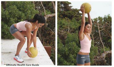 Vanessa Ball Slam Workout