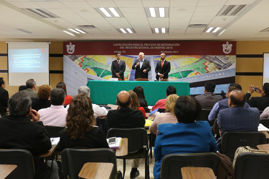 Concluye capacitación de aspirantes al Registro Estatal de Peritos 2018