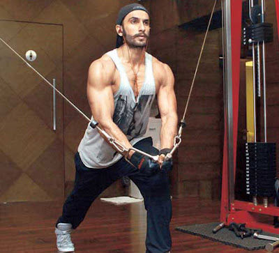 Ranveer Singh Body Workout